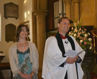 Revd Andy Norris becomes our Revd