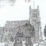 Old Lych Gate Sketch