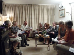 Bible Fellowship Groups meeting in homes or the Parish Centre