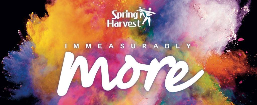 Fancy joining us at Spring Harvest 6-10 April?